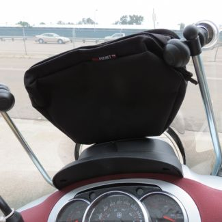 Inside Windshield Removable Touring Pouch