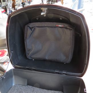 Inside Topcase/Underseat Storage Pouch SOLID Front