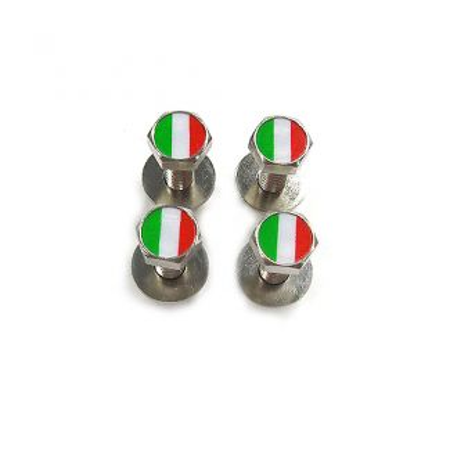 Italian License Plate Screws (Set of 4)