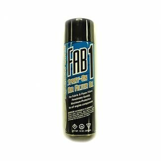 Air Filter Oil Spray-On Type Fab-1