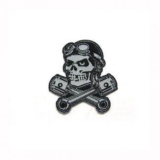 Ace Skull and Piston Patch