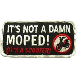 Damn Moped Patch