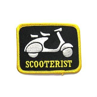 Scooterist w/Scooter Patch