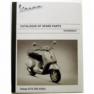 Parts Book GTS 250ie