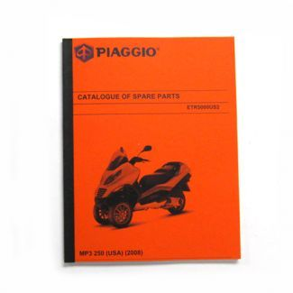 Piaggio MP3 250ie Parts Book