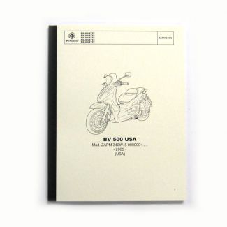 BV 500 Spare Parts Book