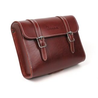 Universal Brown Leather Vespa Pouch