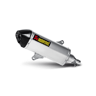 Akrapovic Performance Slip On Exhaust Muffler Pipe for BV350 (All Years) Stainless Steel