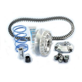 POLINI EVOLUTION COMPLETE VARIATOR KIT WITH SPECIAL BELT GTS/GTV 250-300 (INCLUDES 15.7 GR ROLLERS)