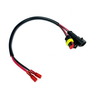 POWER PLUG POWER CABLE FOR 2015 & NEWER GTS 300 (ON WHEN KEY SWITCH IS ON, INTERFACES WITH GLOVE BOX USB CONNECTOR)