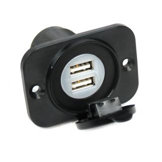 Twin USB Jack Power Source