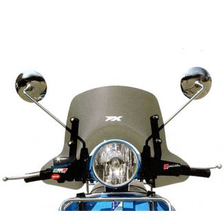 Vespa PX-Stella Smoke Small Windshield