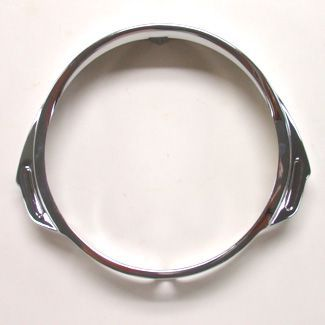 PX Chrome Head Light Rim Vespa Stella