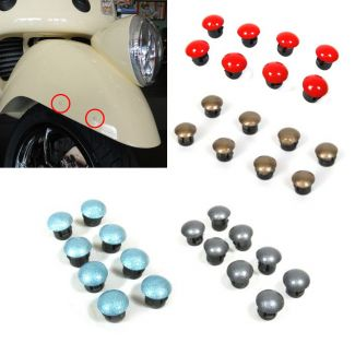 COLOR-MATCHED Plug Kit For Reflector Removal Set of 8 GTS GT LX & More