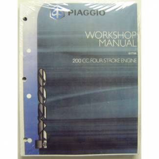 Piaggio Workshop manual BV