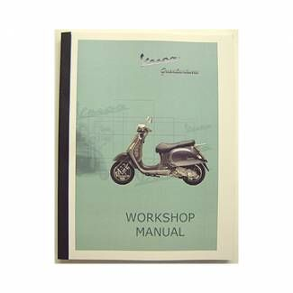 Piaggio Workshop manual GT