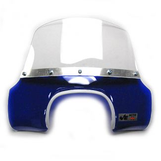 Vintage Mod Flyscreen for Trapezoid Headlight GL-SS BLUE