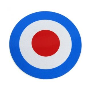 Mod Target Sticker Reflective 2.5 inches