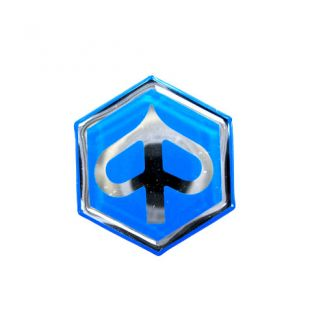 Hexagonal Piaggio Badge