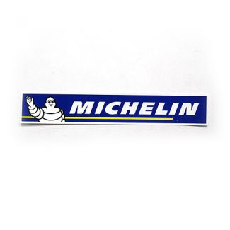 Michelin Blue Sticker 8 Inches Long