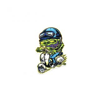Scooter Goblin Small Sticker 3 Inches
