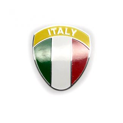Italy Shield Metal Badge