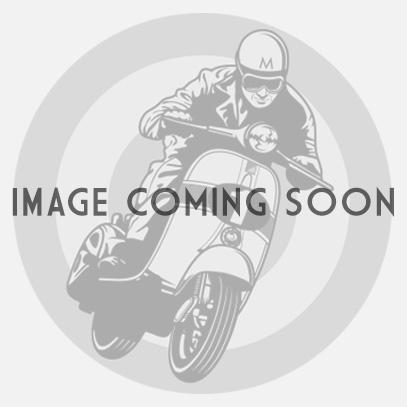 """Vespa Motosport"" Embossed Metal Enamel Badge"