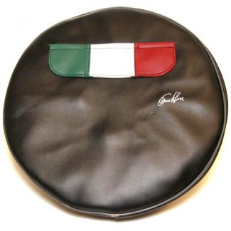 Italian Flag Spare Tire Cover for 10 inch tires