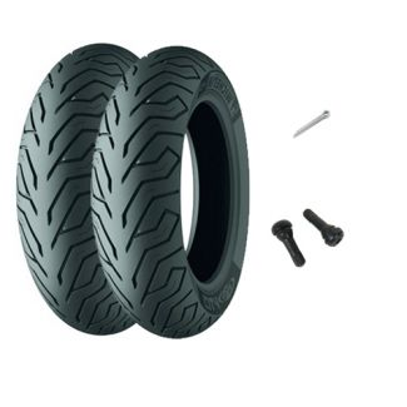 Front/Rear Tire Kit Vespa ET2/ET4 Michelin City Grip
