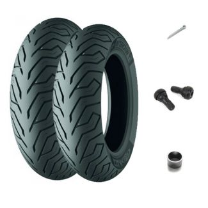 Front/Rear Tire Kit MP3 500 Michelin City Grip