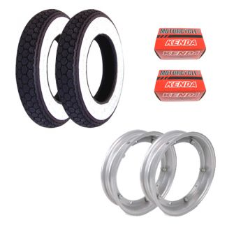 Deluxe Tire Kit **CONTINENTAL WHITE WALL** P/PX/Sprint/GL/Rally