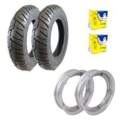 Deluxe Premium Tire Kit **Shinko** Vespa Smallframe