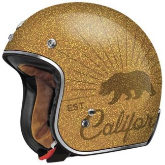 T50 TORC 3/4 SHELL HELMET GOLD GRIZZLY
