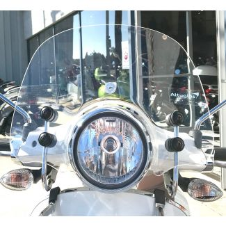 **CUPPINI** CLEAR SMALL SIZED WINDSCREEN VESPA PRIMAVERA 50 150