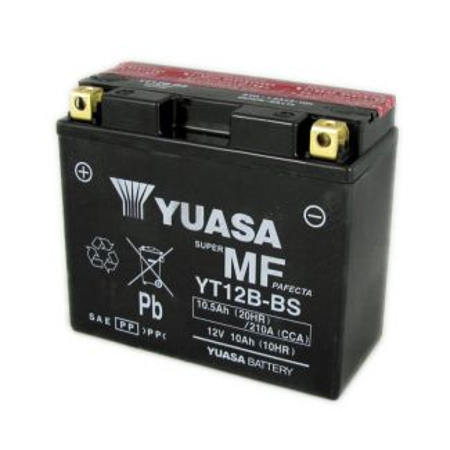 YUASA YT12B-BS 12 Volt 10Ah Battery Vespa 946 (AP8127619)