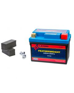 FEATHERWEIGHT 150 CCA LITHIUM BATTERY  REPLACES YTX4L-BS, YTX5L-BS AND YTX7L-BS