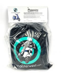 VESPA PRIMAVERA and SPRINT WATER PROOF SCOOTER COVER BY SCOOTERWEST.COM  (also fits Vespa ET, LX, LXV and More)