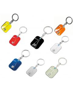 VESPA LEGSHIELD KEY CHAINS WITH TIN BOX (ASSORTED COLOR)