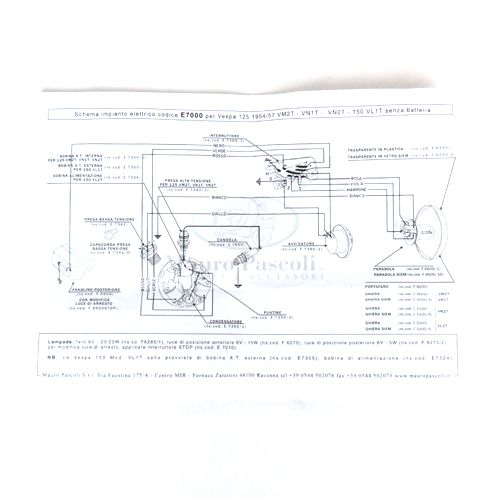 Wiring Harness Vespa VM2/VN1/VN2/VL1 on light switch cover, electrical outlets diagram, light switch power diagram, wall light switch diagram, circuit diagram, light switch installation, dimmer switch installation diagram, light switch with receptacle, light switch cabinet, light switch piping diagram, light switch timer,
