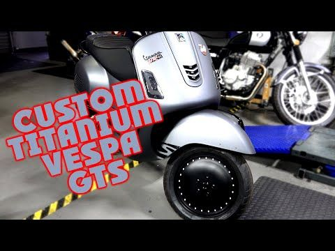 led black projector headlight w/running light vespa gts super (will also  work for