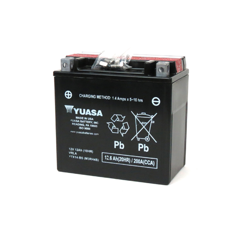 YTX14-BS Motorcycle battery for Piaggio BV Tourer 250 MP3 250 250cc Banshee